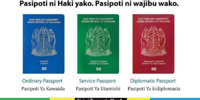 Jinsi ya kupata Passport mpya ya Kielektroniki