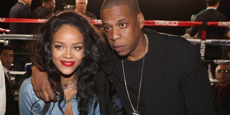 Rihanna na Jay Z wakiwa pamoja