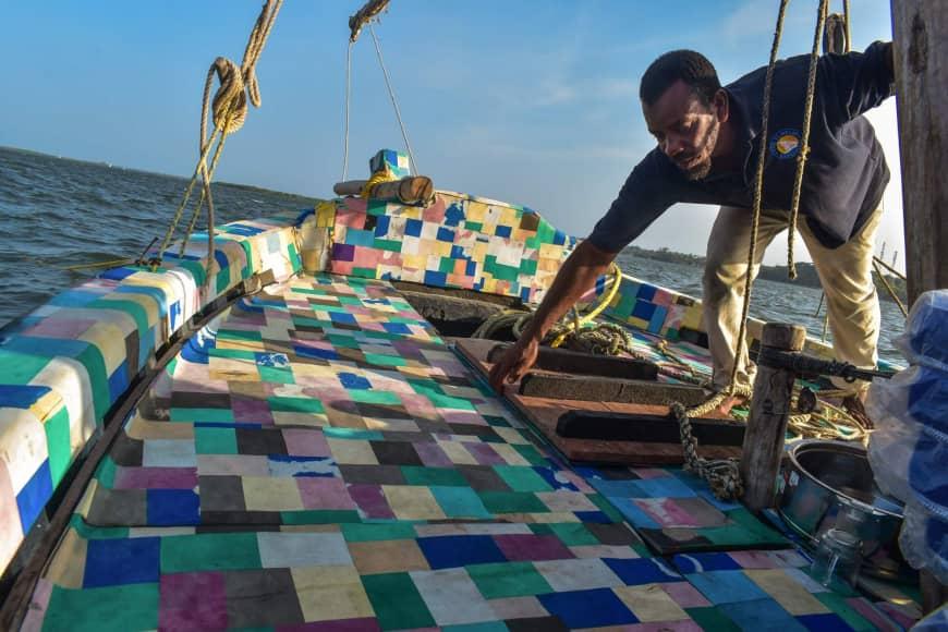 Mashua ya plastiki Lamu Kenya