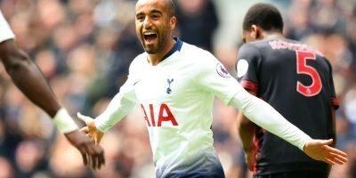 Lucas Moura hat trick Tottenham