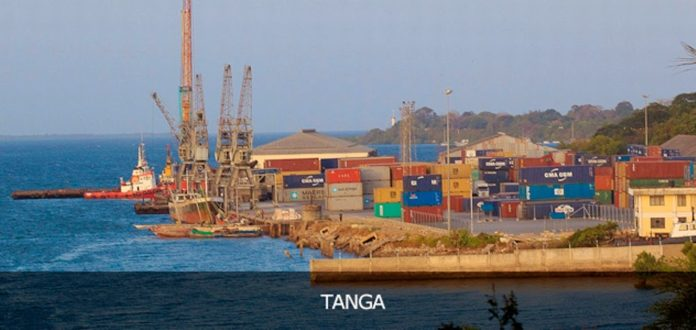 Tanga port oil