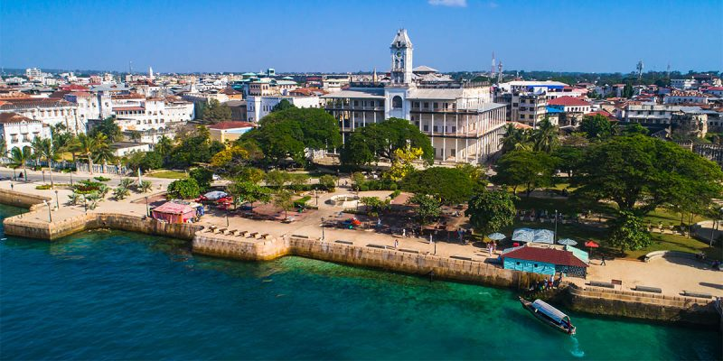 Revenue and foreign grants to Zanzibar