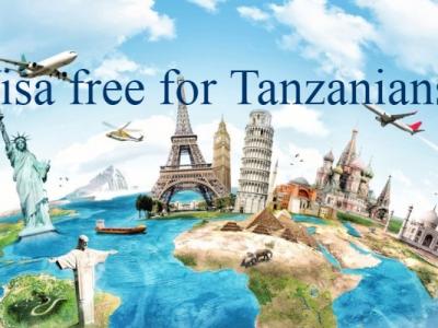 Visa free countries Tanzania